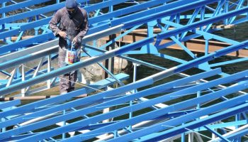blue-frame-paint-height-structure-painting
